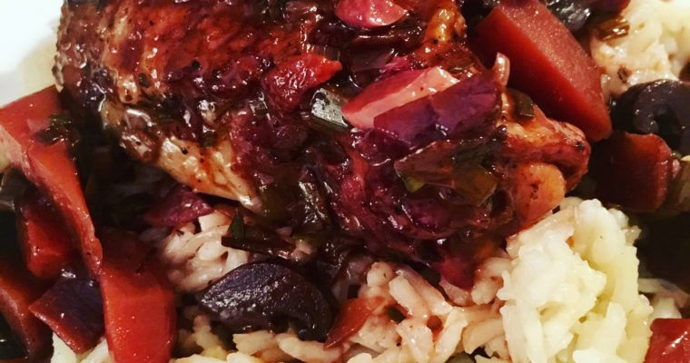 A coq au vin recipe that's it's easier than it looks