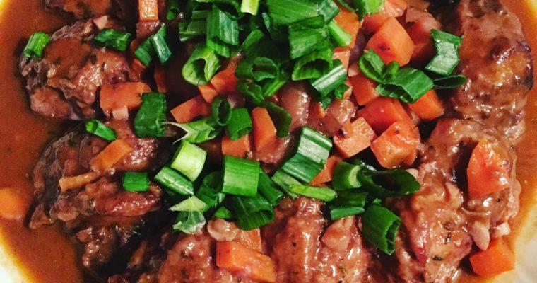 Braised Pork Cheeks that Will Make Your Head Spin