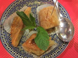 Katoubia pastries