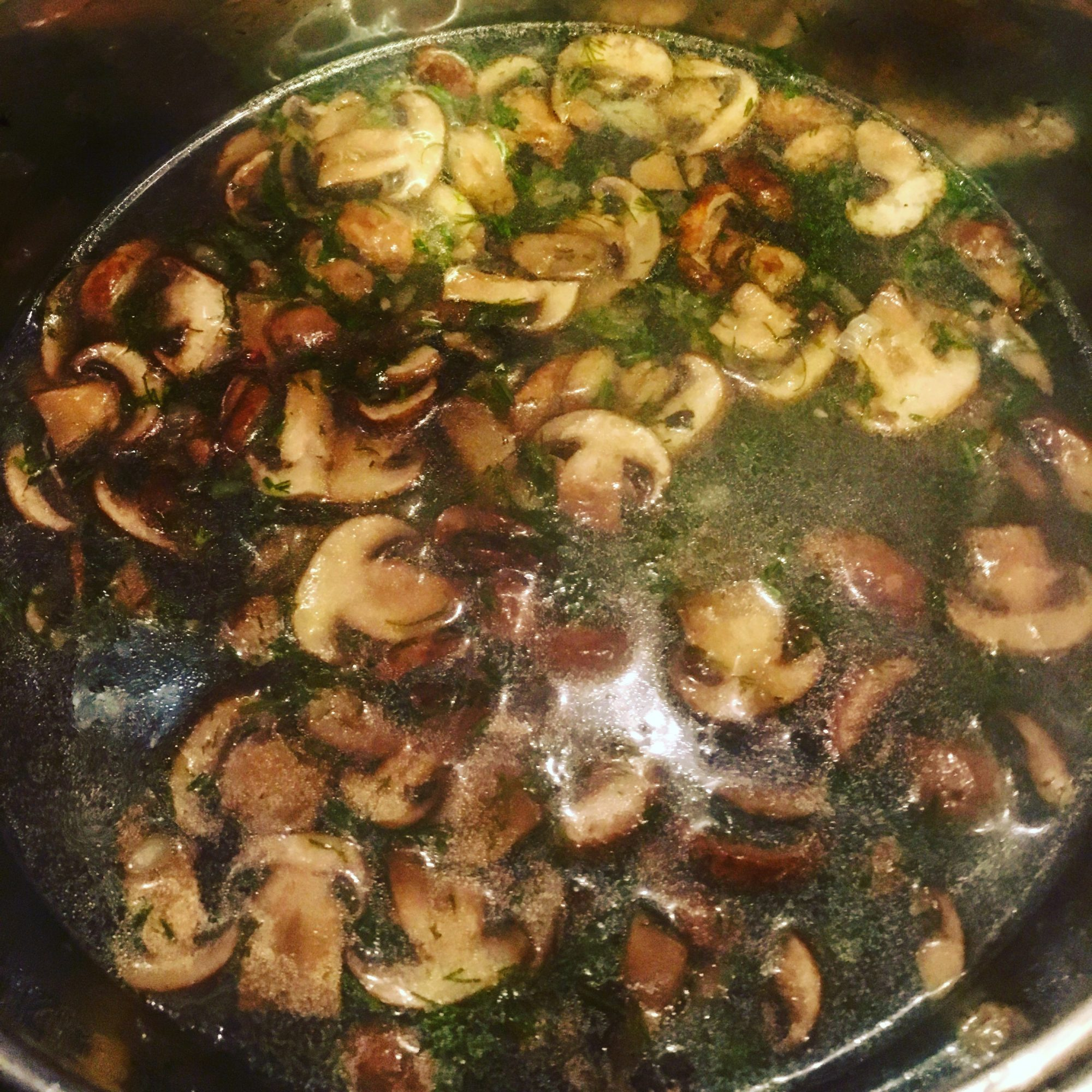 This mushroom soup is perfect for gloomy days